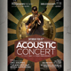 Acoustic Retro Flyer / Poster - GraphicRiver Item for Sale