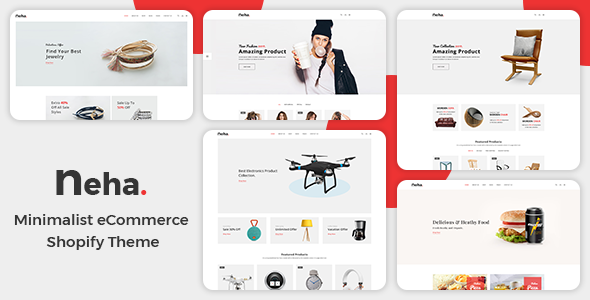 Neha - Multipurpose Shopify Theme - Shopping Shopify
