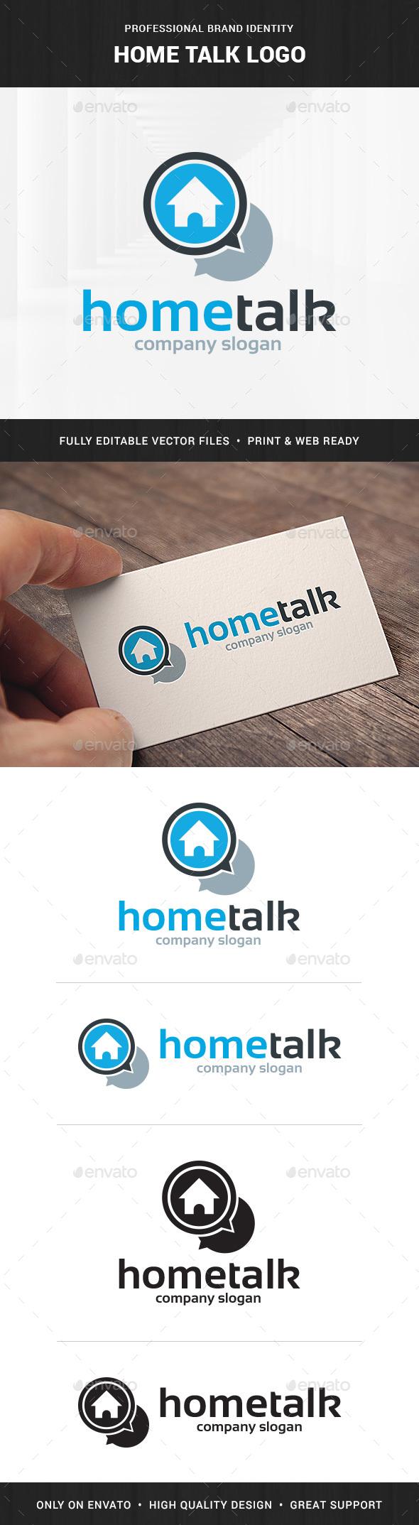 Home Talk Logo Template - Buildings Logo Templates