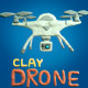 Drone Clay Plasticine Elements - VideoHive Item for Sale