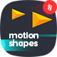 Abstract Motion of Geometric Shapes Backgrounds - GraphicRiver Item for Sale