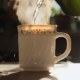 Kettle Pouring Boiling Water Into a Cup. - VideoHive Item for Sale