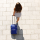 young woman walking with suitcase - PhotoDune Item for Sale