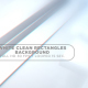 White Clean Rectangles Background
