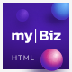 MyBiz - The First Multi-Business & Booking HTML Theme