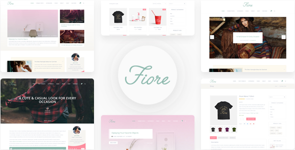 Blog Fiore - WordPress Blog Theme - Blog / Magazine WordPress