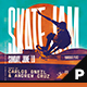 Skate Jam Flyer & Poster Template - GraphicRiver Item for Sale