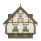 Classic Half Timbered House - GraphicRiver Item for Sale