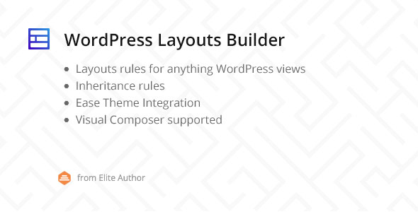 WordPress Layouts Builder - CodeCanyon Item for Sale