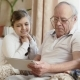 Grandfather Using Digital Tablet with Grandchildren - VideoHive Item for Sale