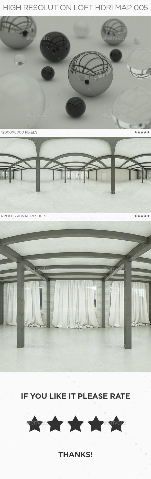 High Resolution Loft HDRi Map 005 - 3DOcean Item for Sale