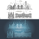 Linear Banner of London - GraphicRiver Item for Sale