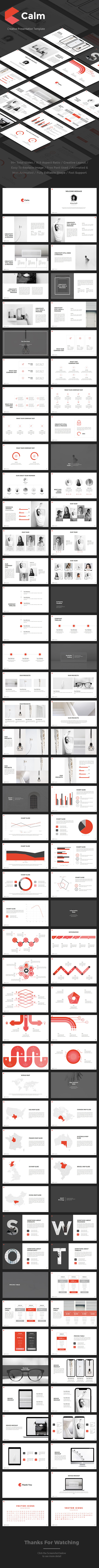 Calm Powerpoint - Business PowerPoint Templates