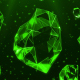Green Crystals - VideoHive Item for Sale