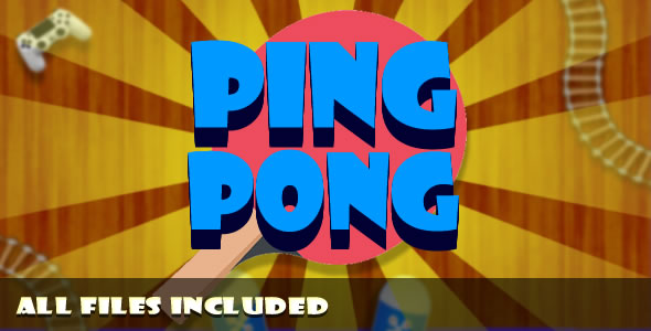 Ping Pong (CAPX & HTML) Game. - CodeCanyon Item for Sale