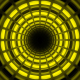 Yellow Light Tunnel - VideoHive Item for Sale