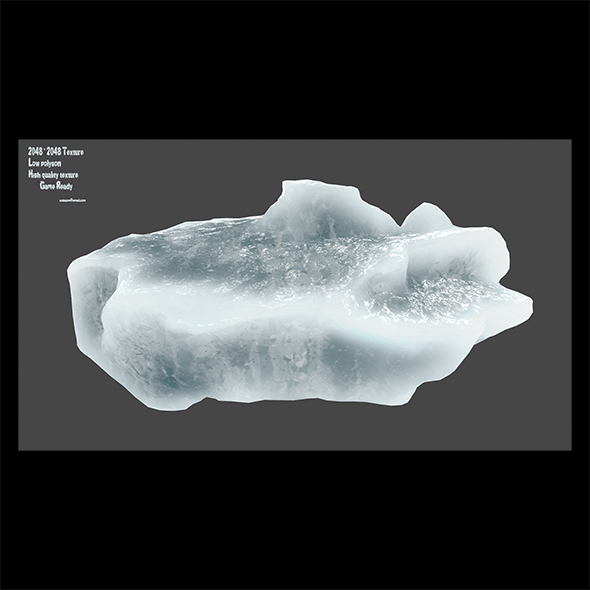 ice 1 - 3DOcean Item for Sale