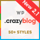 CrazyBlog - Start A Blog or Magazine for Adsense or Affiliate Business - ThemeForest Item for Sale
