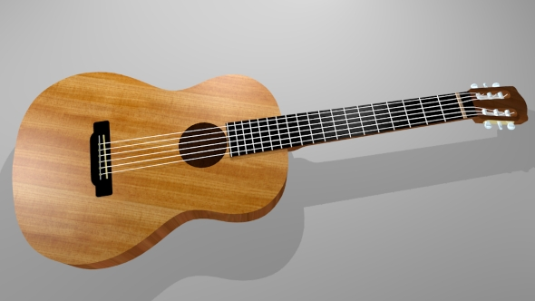 Guitar bass - 3DOcean Item for Sale