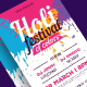 Holi Festival of ColorsFlyer - GraphicRiver Item for Sale