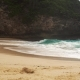 Ocean Wave on Kelingking Beach in Nusa Penida - VideoHive Item for Sale