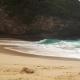 Ocean Wave on Kelingking Beach in Nusa Penida - VideoHive Item for Sale