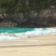 White Sand and Crystal-blue Sea in Kelingking Beach Nusa Penida - VideoHive Item for Sale