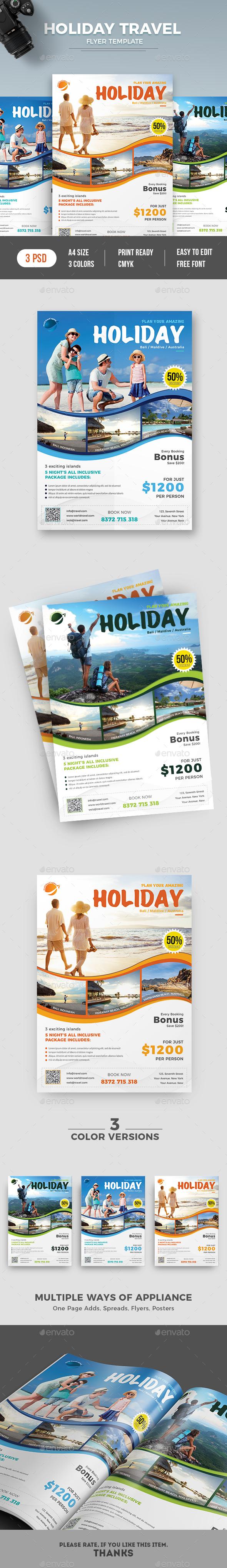 Travel Flyer - Commerce Flyers