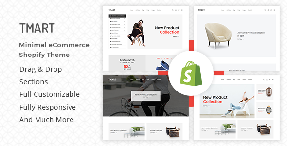 Image of Tmart - Minimalist Shopify Theme