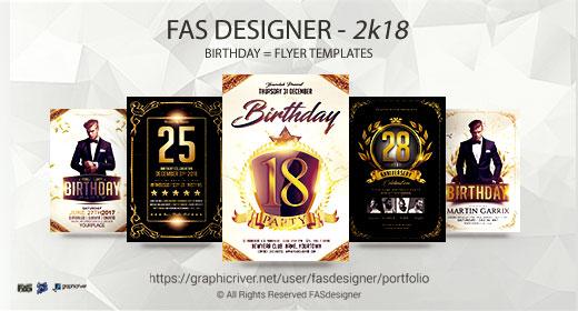 Birthday Flyer Template
