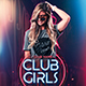 Club Girls Party Flyer