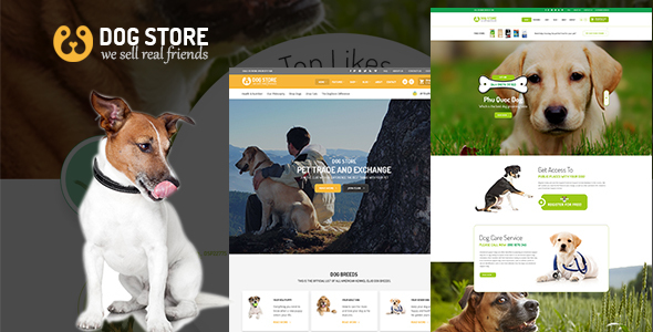 Haustiere – Pets Store RTL WooCommerce WordPress Theme