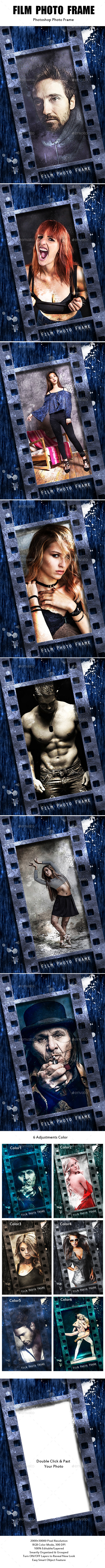 Film Photo Frame - Photo Templates Graphics