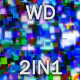 Crazy Dancing Pixels WD 2in1 - VideoHive Item for Sale