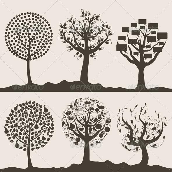 Wood tree6 - Flowers & Plants Nature