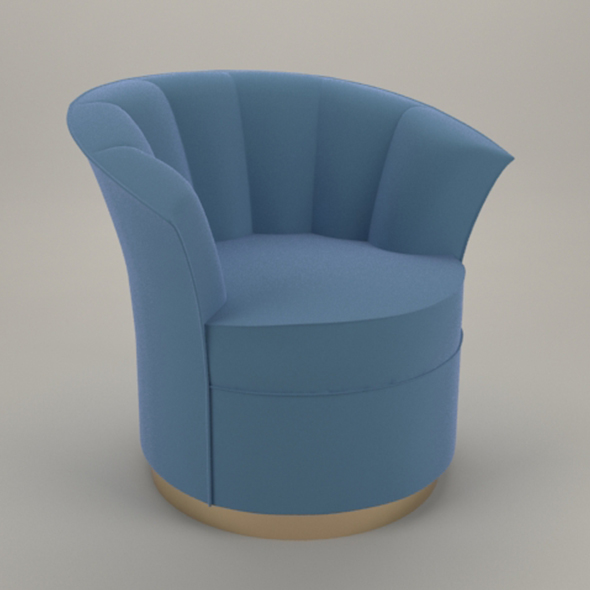 Besame chair - 3DOcean Item for Sale