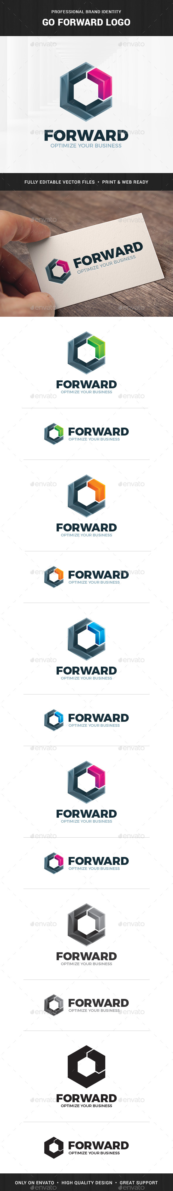 Go Forward Logo Template - Symbols Logo Templates