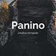 Panino Creative Design Google Slide Template - GraphicRiver Item for Sale