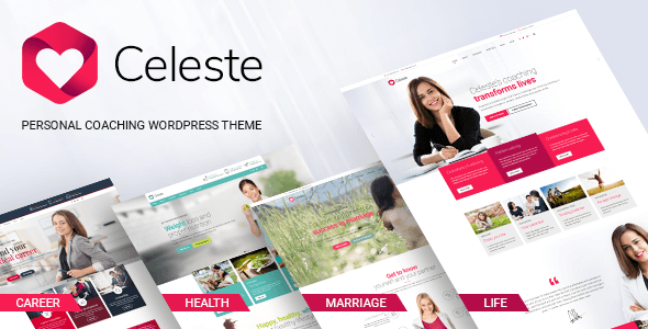 Celeste - Life & Health Coaching WordPress Theme