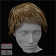Short Hair Female 3D model