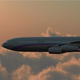 Airplane IL-96 Flying Above the Clouds in the Sky - VideoHive Item for Sale