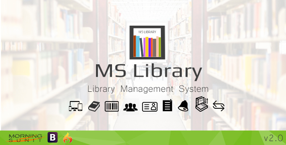 MS Library - CodeCanyon Item for Sale