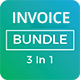 Invoice Bundle (3 in 1) - GraphicRiver Item for Sale