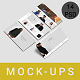 3D Screen Web Showcase Mockups