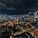 Downtown Vancouver, British Columbia, at Night - VideoHive Item for Sale