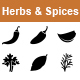 Herbs & Spices vector icons - GraphicRiver Item for Sale