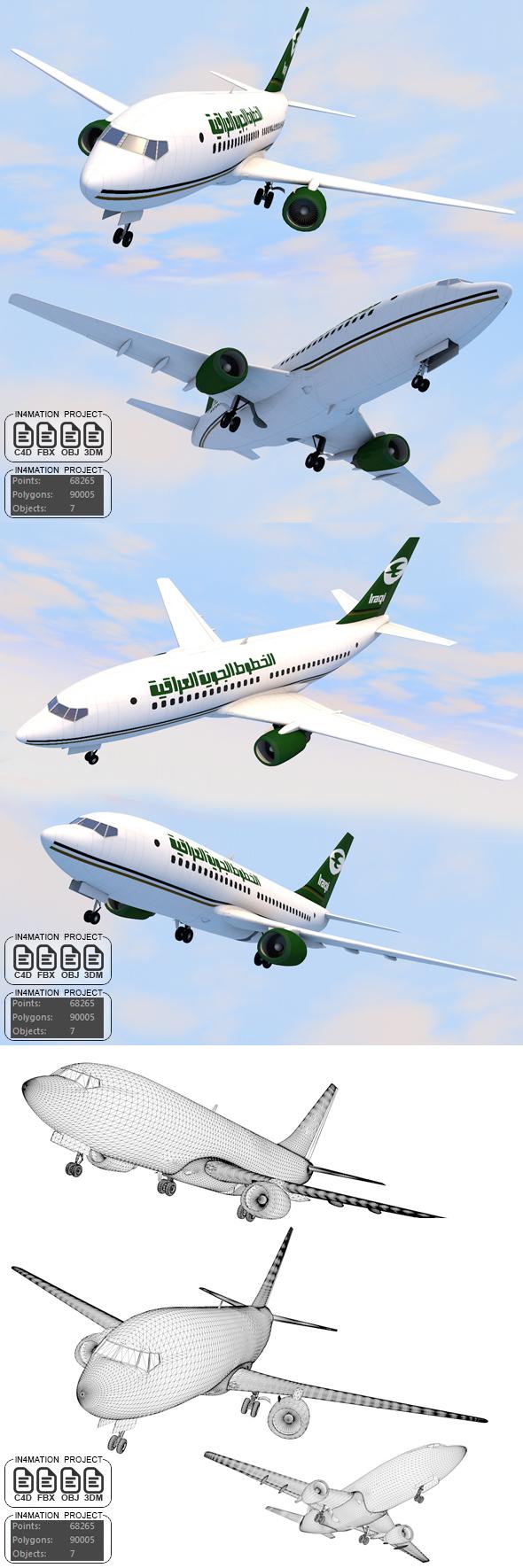 Iraqi Airways - 3DOcean Item for Sale