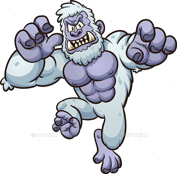 Yeti Monster - Monsters Characters