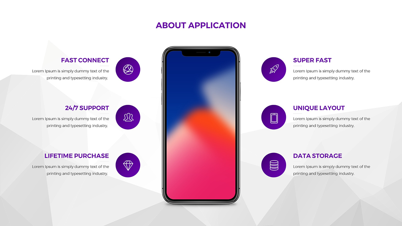 Applala mobile application powerpoint template by hemalaya1 applala mobile application powerpoint template toneelgroepblik Image collections