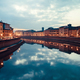Arno In Pisa At Dusk - PhotoDune Item for Sale